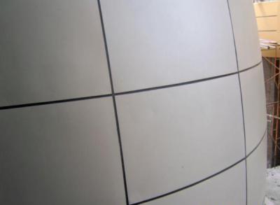 双曲铝单板7
